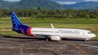 Foto: DOK. Pesawat Sriwijaya Air Desember 2019 ( Leony Eka Prakasa / Shutterstock )